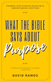 what the bible says about purpose david ramos