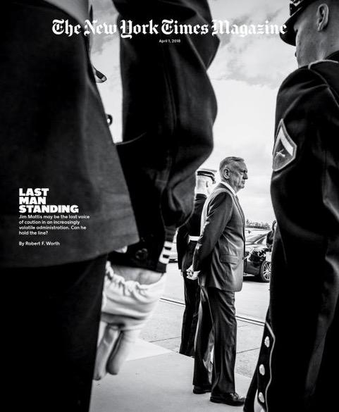 New York Times Mattis