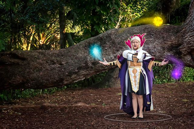 Second installment, Invoker cosplay made by @zelledincht. #Invoker #invokercosplay #cosplay #dota2 #TI #forest