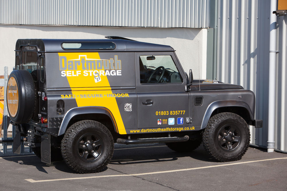Dartmouth Self Storage LandRover Defender