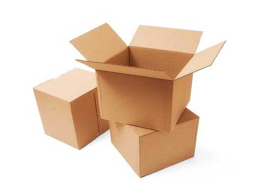 Cardboard boxes packaging