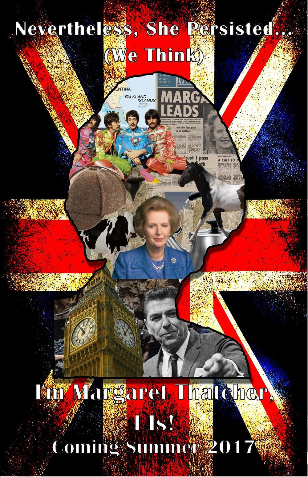 I'm Margaret Thatcher, I Is  is a play that Anystage Theater produced that was definitely written by a playwright