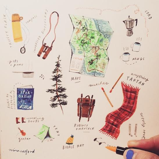 Fantasising about a road trip by Nina Cosford via Instagram