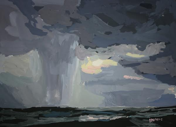 Lake Michigan Storm by Elizabeth Mayville