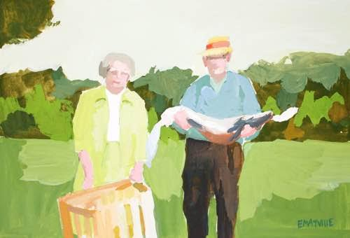 Grandma and Papa by Elizabeth Mayville