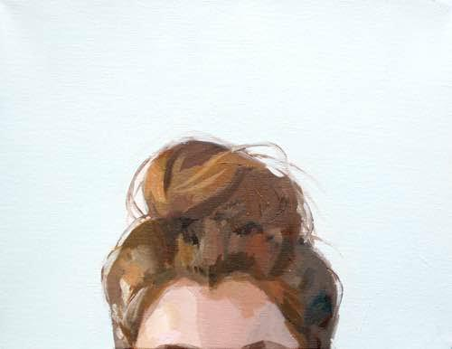 Top knot by Elizabeth Mayville