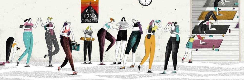 Yoga Monday's by Robert Hae-Seng