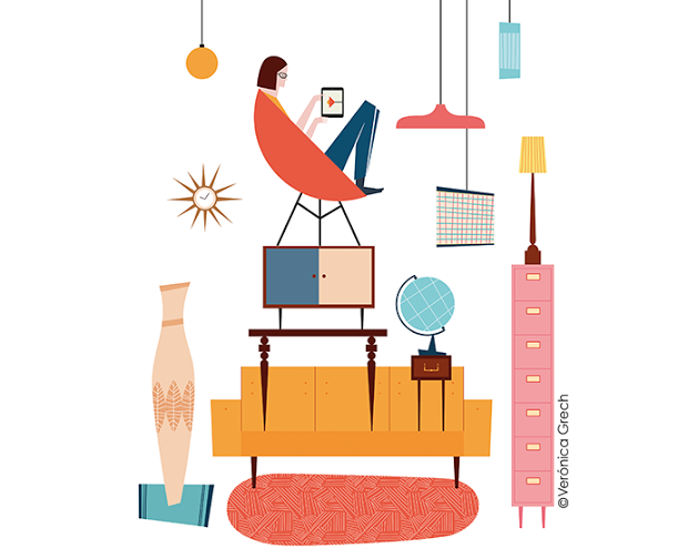 How to avoid home-decorating anxiety - The Boston Globe Magazine, by Verónica Grech