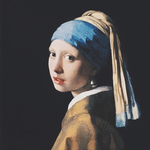 Girl with a Pearl Earring • Johannes Vermeer (1665) . . In the end, we'll all become stories • Of this girl, we may not know exactly who she was, but Vermeer captured her in such a way as to be enchanting.  Maybe, that is enough.