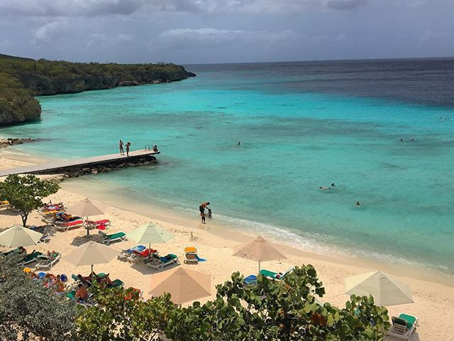 Smell the sea, feel the sky, and let your soul and spirits fly. - Van Morrison #curacao #beachlife #island #beach #turquoise #wanderlust #cbigrock #swim #caribe #adventure #snorkeling #travelpics #travelphotography #lovetotravel