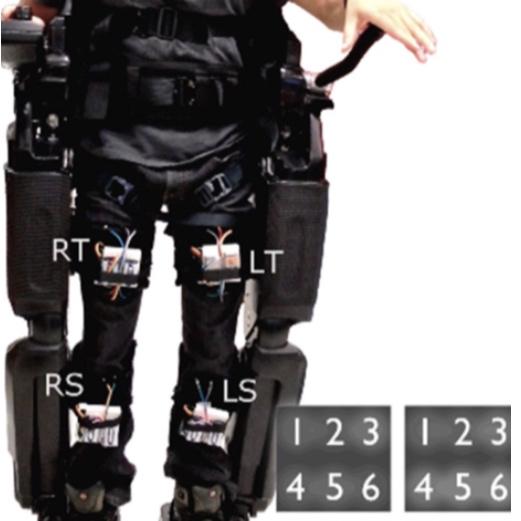 Exo Brace on REX Exoskeleton by INDI (2014)