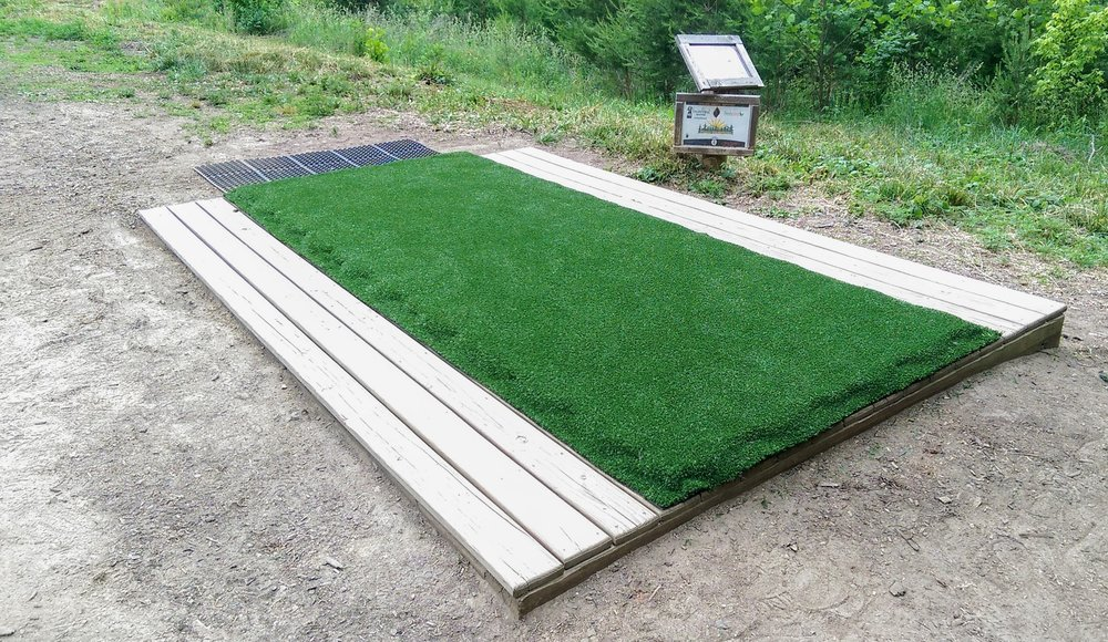 Attach and Secure Turf