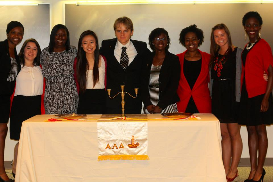 university of alabama-birmingham alpha lambda delta induction ceremony