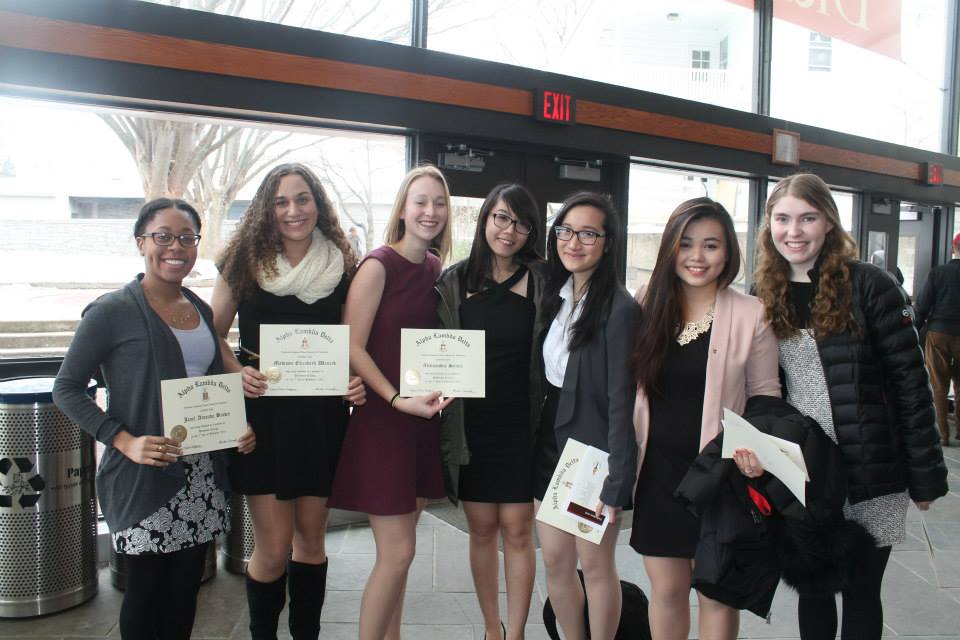 new alpha lambda delta members at dickinson college