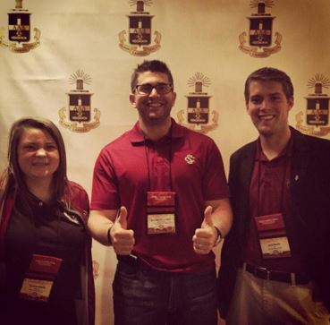 university of south carolina's officers at alpha lambda delta's national leadership conference