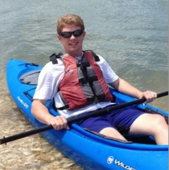 bradley loves spending time outdoors kayaking and hiking