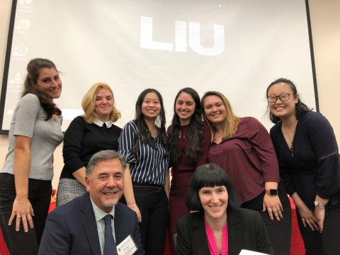 Long Island University - brooklyn induction 2019