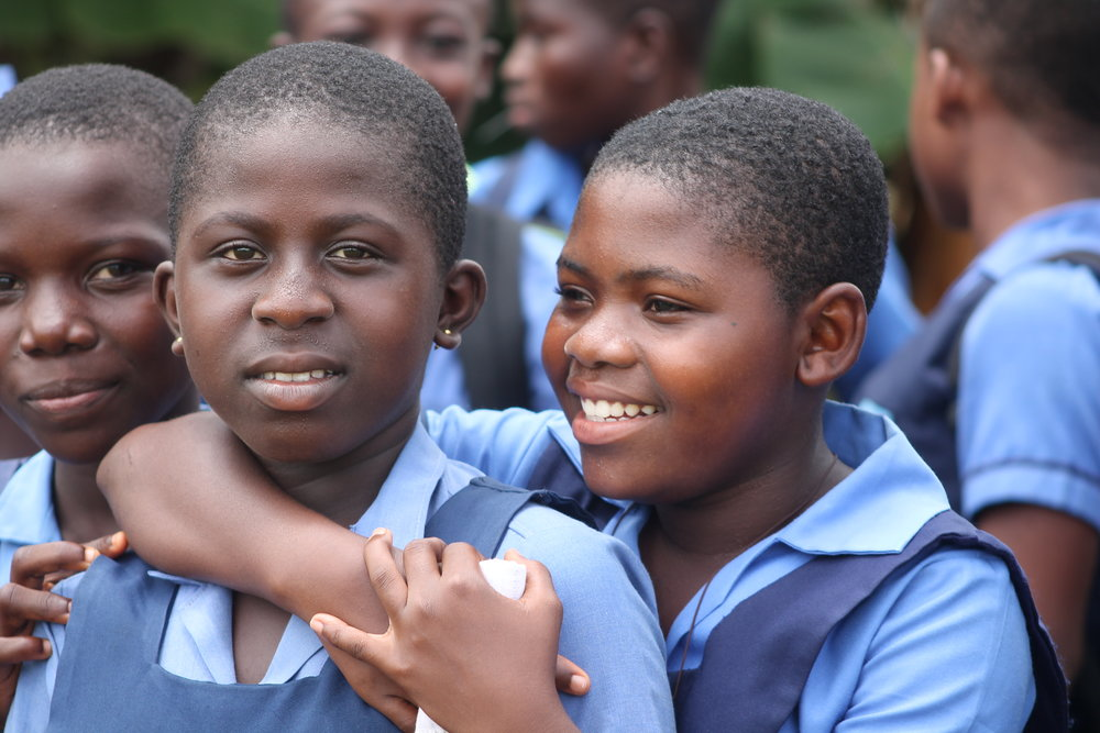 Ghanian students.  All photos provided by nKoso.