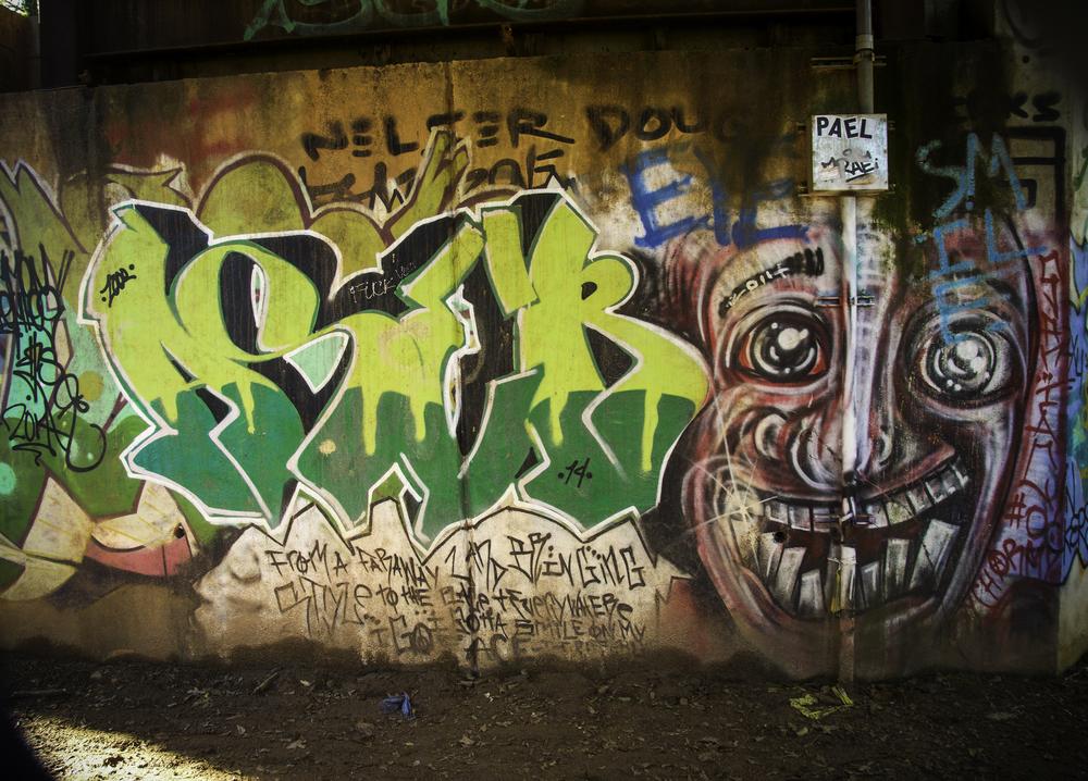 Street art in the city.