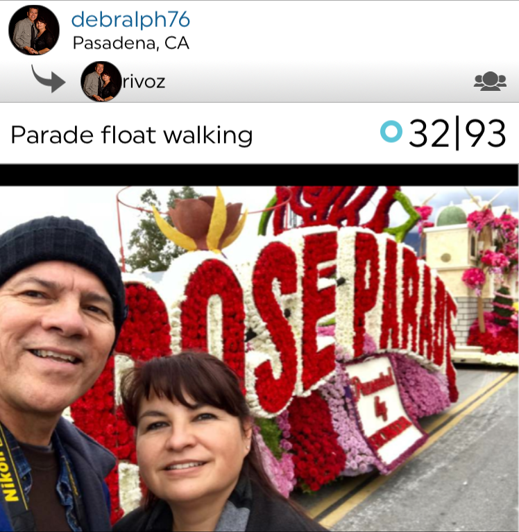 @debralph and @rivoz posted a fun stroll, exploring the famous Rose Parade, in Pasadena, CA!