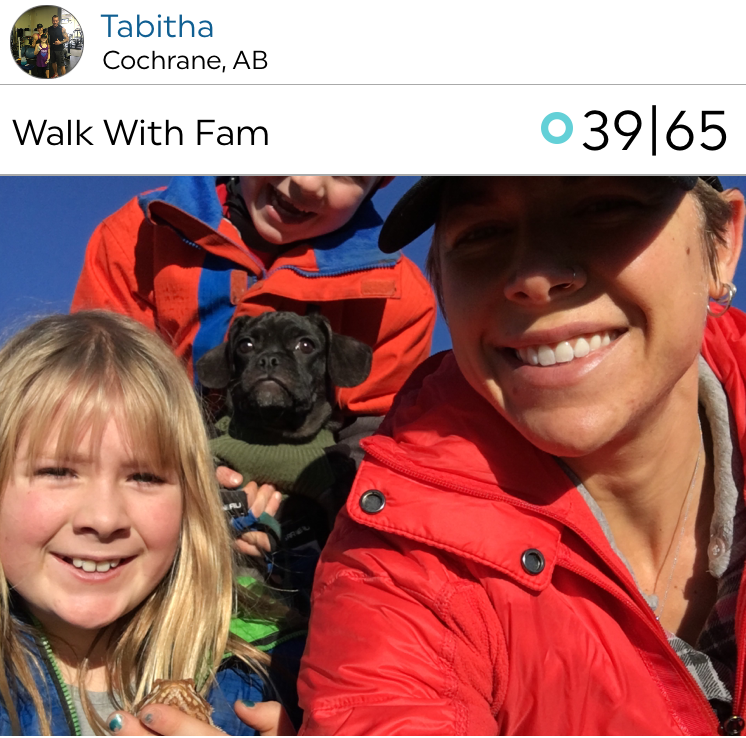 @tabvdveen and family out on a hike!