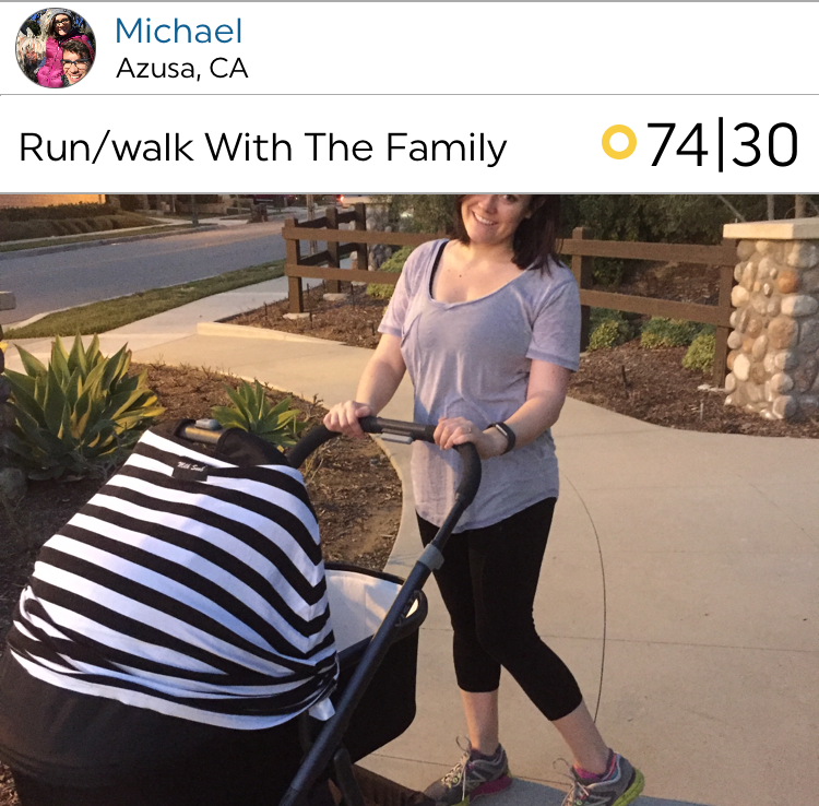 @mmunoz on a lovely workout with the whole family.