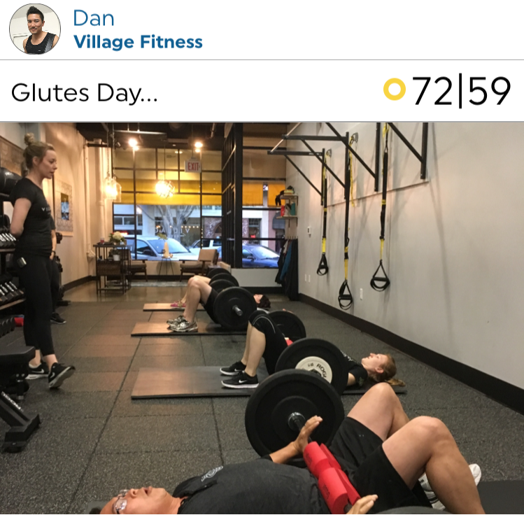 @dan over at Village Fitness in Glendora, getting it done!