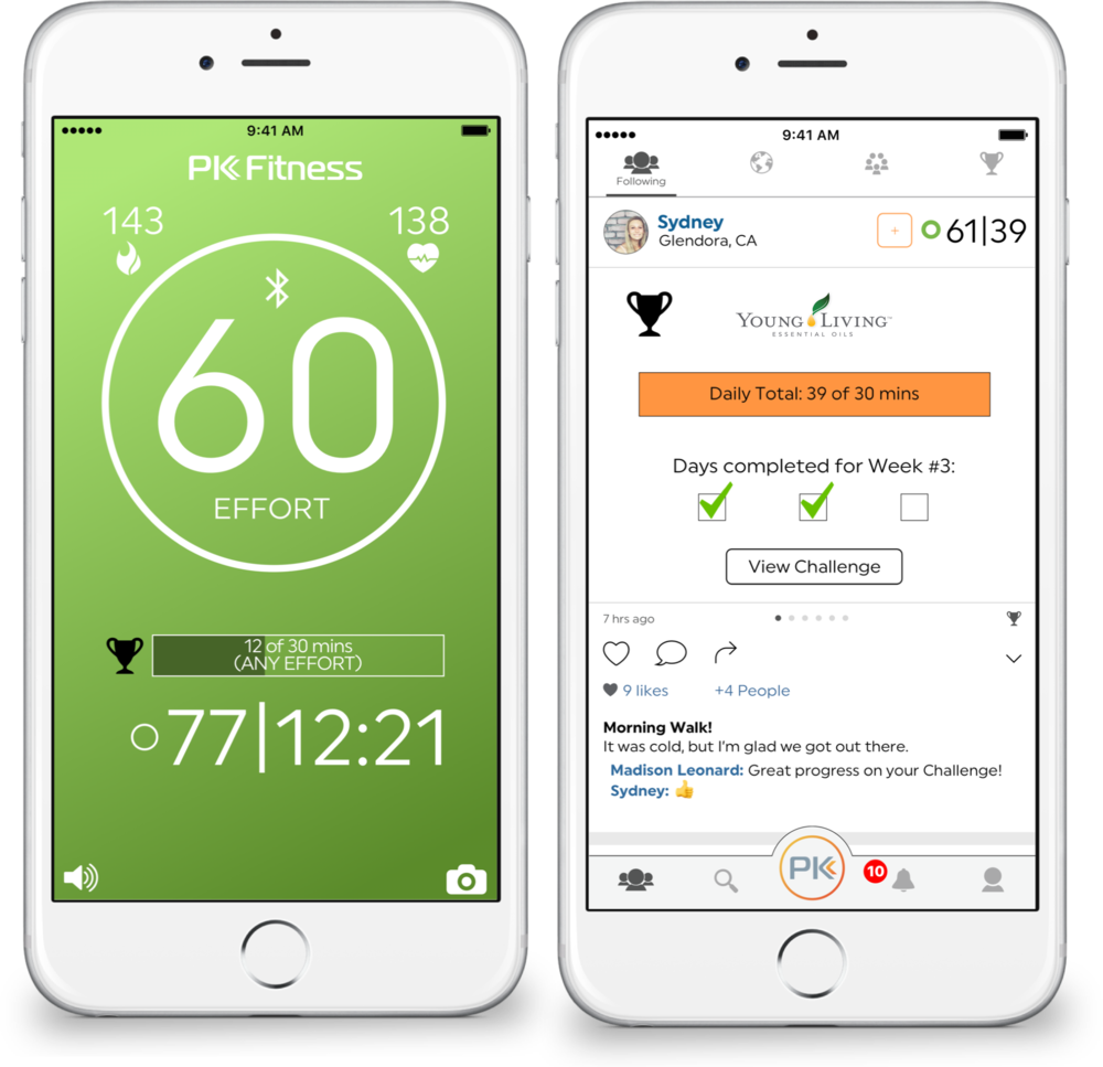 Challenge Progress. - Your live workout screen will show you minutes toward your day, your saved workout tiles will show your daily progress, and you can find your weekly progress on the challenge home page.
