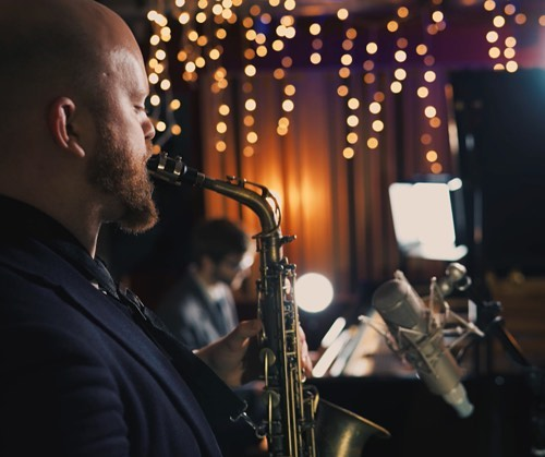 The Johnson Jazz Trio will bring their sophisticated sounds to your event and add a touch of class 🎷