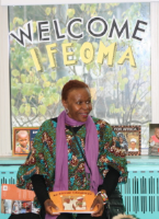 Ifeoma Onyefulu at the Shaw School