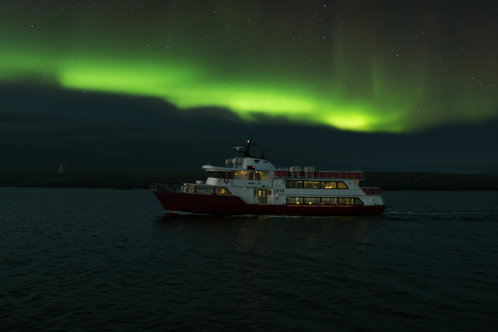 Seeing the Northern Lights from the boat is incredible.