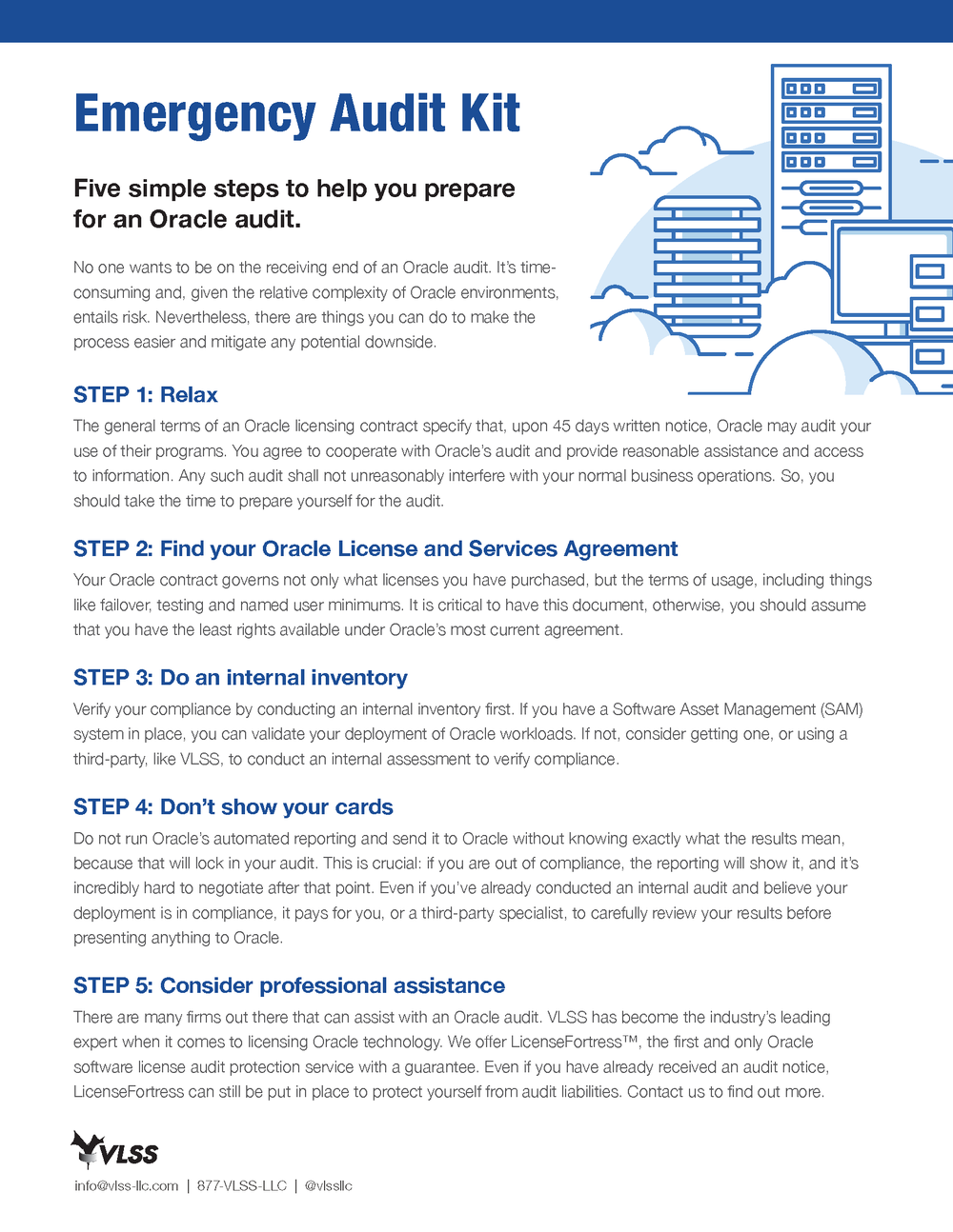 QUICK TIPS ON SURVIVING AN ORACLE AUDIT - <<<<  CLICK IMAGE TO DOWNLOAD