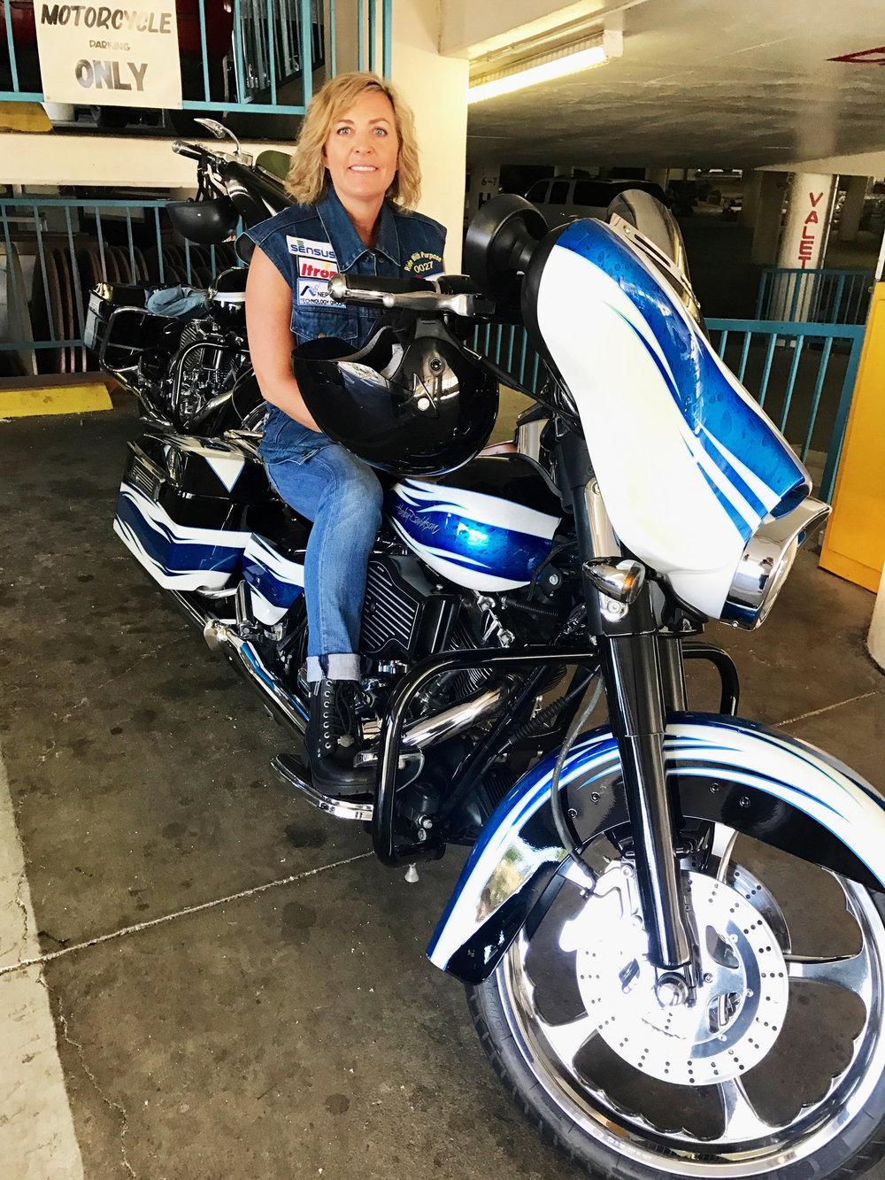 V&A's President,Debra L. Kaye, PE - Ready to #ridewithpurpose