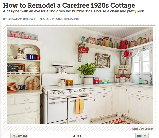 This Old Home: A Carefree 1920s Cottage — City Farmhouse®