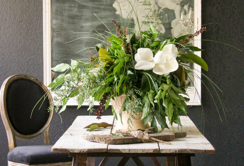 How to: Summer Flower Arranging by Trace Barnett | City Farmhouse Event Venue | Franklin TN