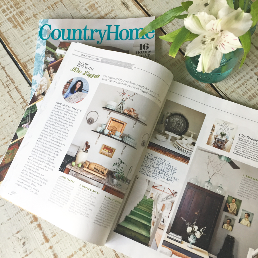 City Farmhouse | Featured in Country Home