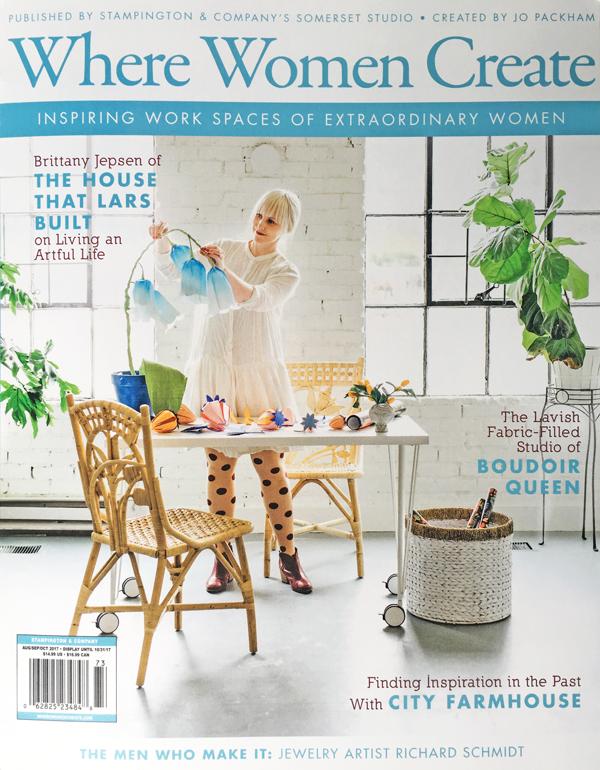 City Farmhouse featured in Where Women Create