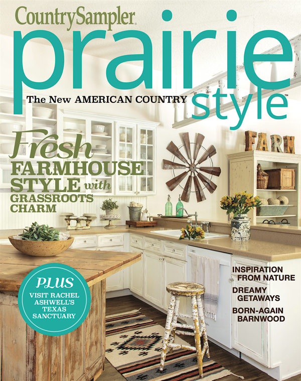 City Farmhouse featured in Prairie Style Magazine