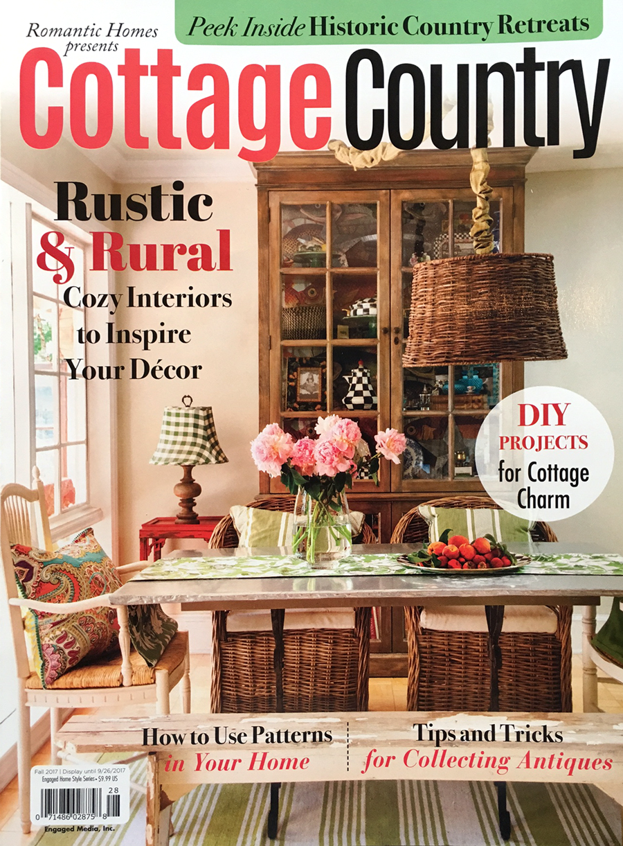 Cottage Country features City Farmhouse Style written by Kim Leggett