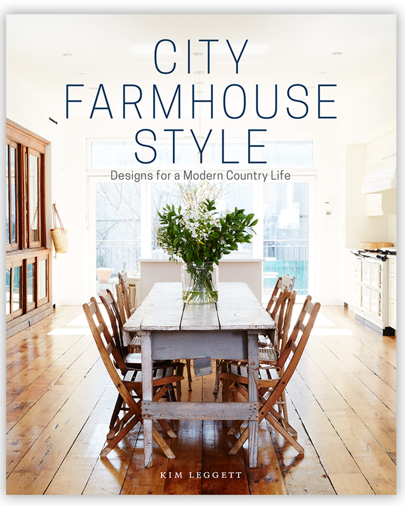 City Farmhouse Style | Written by Kim Leggett