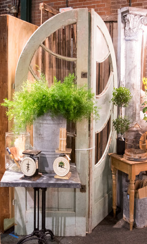 Desirable Junk featured beautiful arched doors at the City Farmhouse Pop Up Fair | June 2017 | Franklin, TN