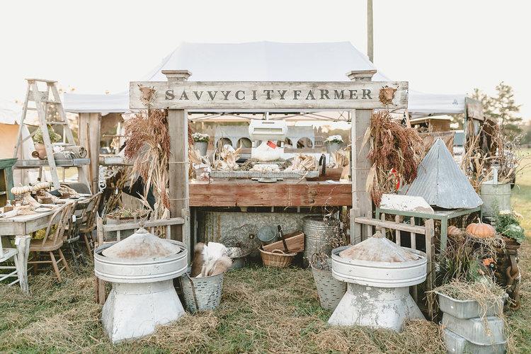 Savvy City Farmer at the October City Farmhouse Pop Up Fair