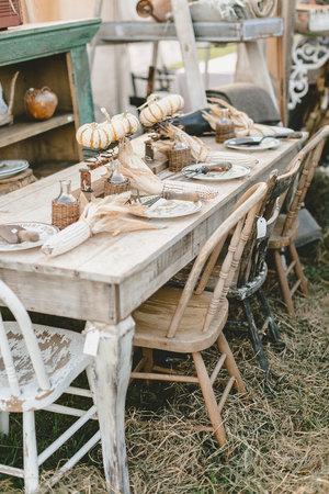 Find authentic farmhouse tables at the City Farmhouse Pop Up Fair