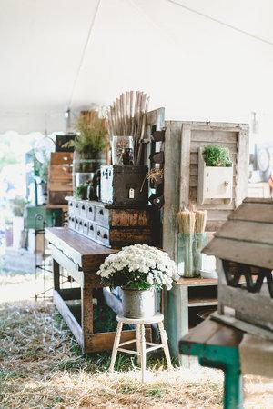 Farmhouse style details at the City Farmhouse Pop Up Fair | Franklin, TN