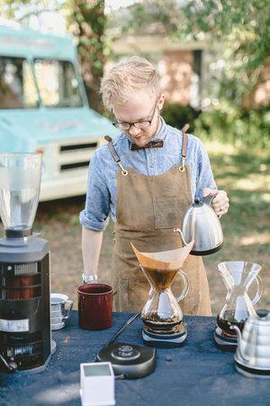 Drip coffee at the City Farmhouse Pop Up Fair | Franklin, TN