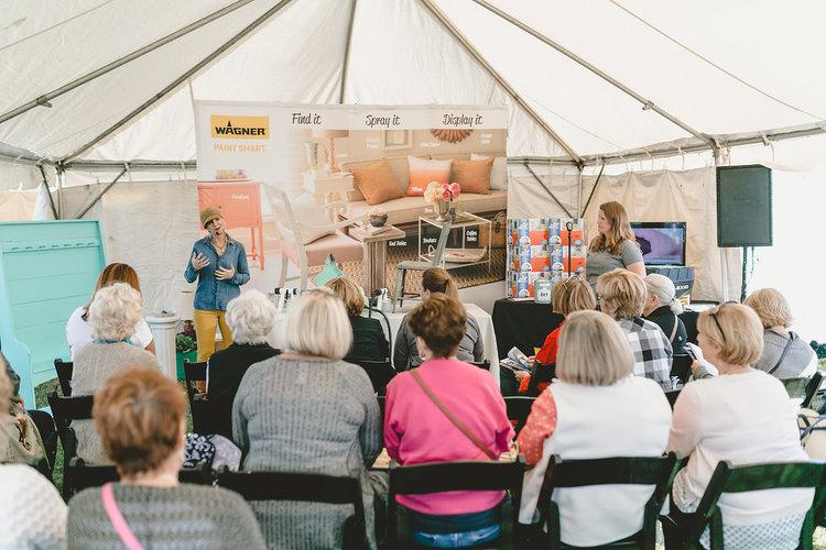 Presentation at the City Farmhouse Pop Up Fair | Franklin, TN