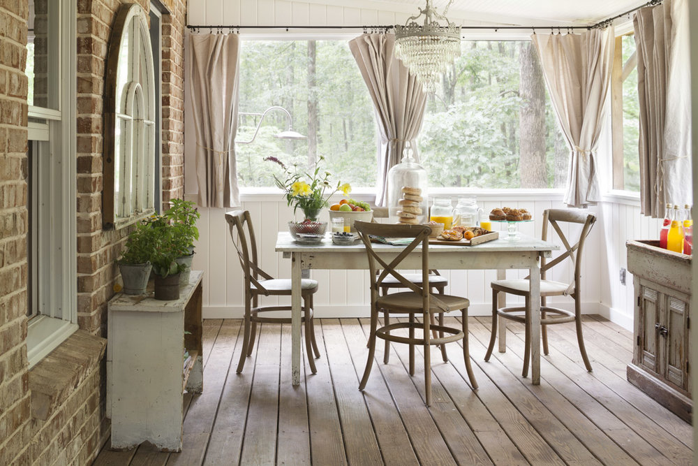Dining area in the Storybook Cottage | City Farmhouse