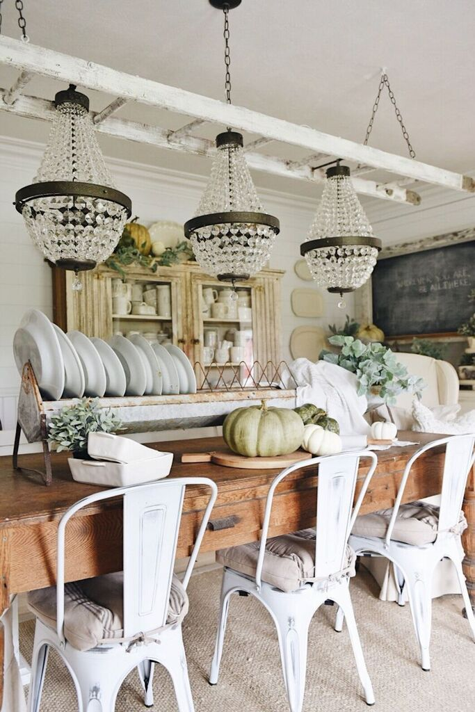 Beautiful chandeliers on the Liz Marie Blog