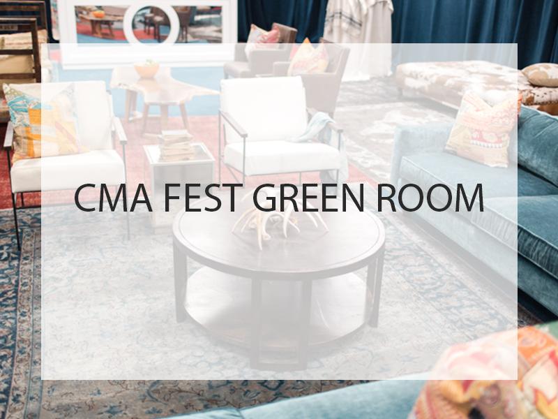 CMA Fest Green Room