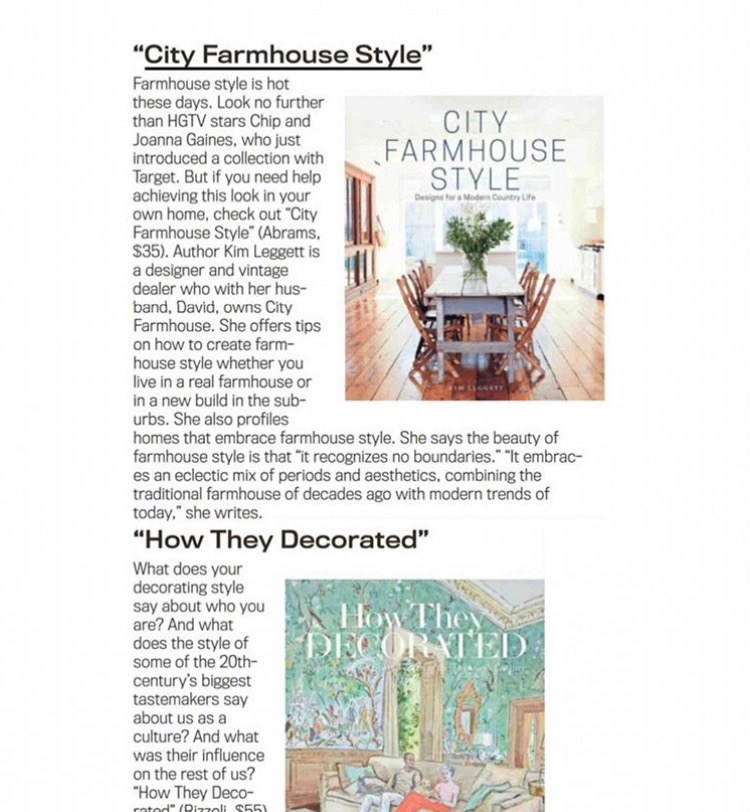 City Farmhouse Style in The Detroit News